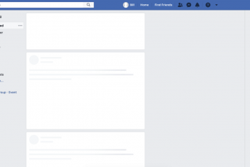 Skeleton, o loading do Facebook